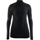 Craft W's Active Intensity Zip Shirt Black/Granite